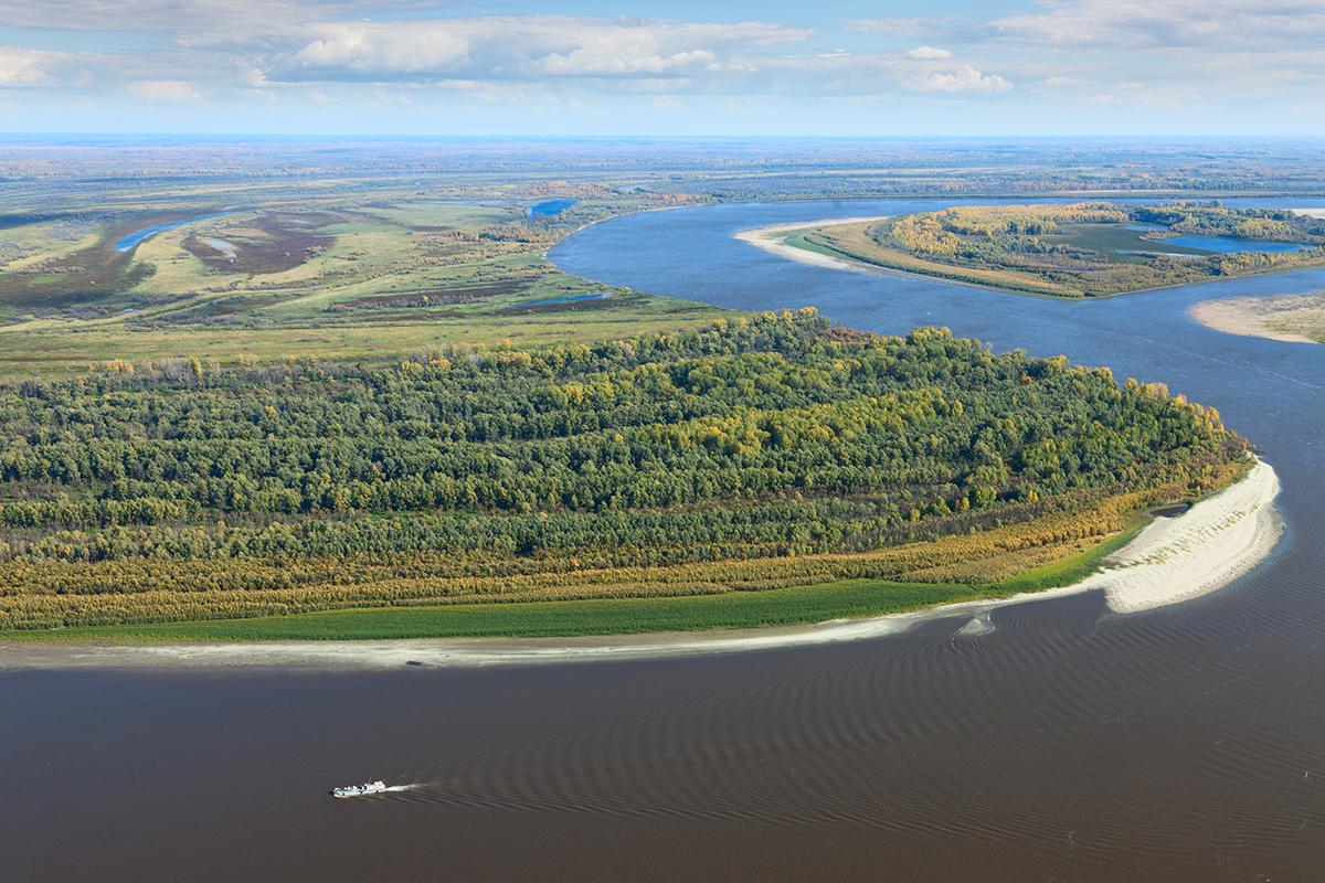 Flüsse Sibirien